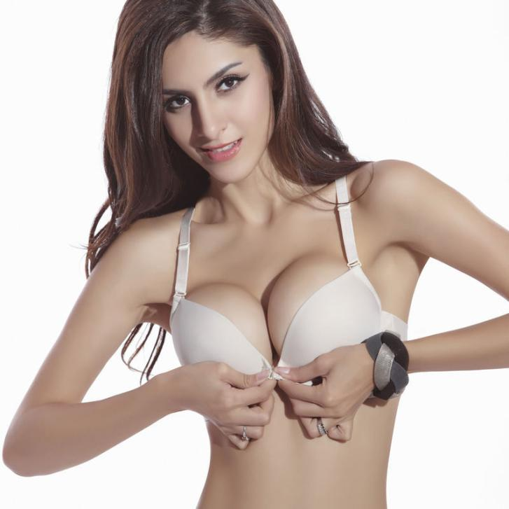 Fashion Plus Size Brassiere C Cup Women Bra Front Closure Sexy Seamless Adjustable Push up Bras Cotton Underwear(China (Mainland))