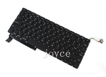 """FREE SHIPPING Laptop Keyboard US For Apple MacBook Pro - 15"""" Unibody A1286 replacement"""