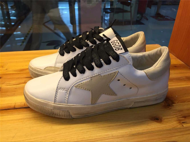 Original Italy Brand Golden Goose Pelle Casual Shoes Superstar Women Men Genuine Leather GGDB White Brown Shoes Scarpe Donna