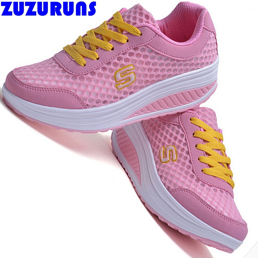 fashion women platform casual shoes ladies girls swing tenis trainers shoes breathable mesh casual shoes women ankle boots m193(China (Mainland))