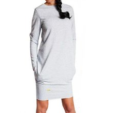 Sexy Women Long Sleeve Warm Dress Sweatshirt Party Short Mini Jumper Dresses Hot 2016(China (Mainland))