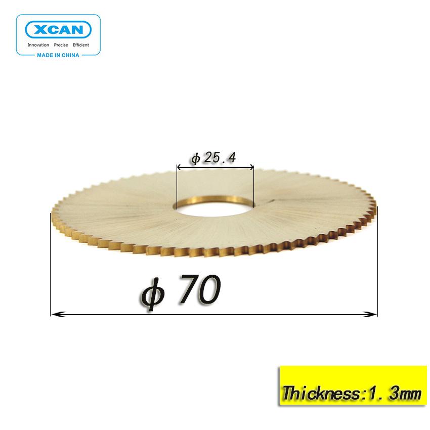 key cutting machine blade for wenxing 100E 100E1 100F power tools circular saw blade Titanium 1 Inch hole thin titanium cutter(China (Mainland))
