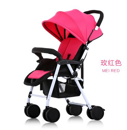 Baby stroller ultra portable sitting lying shock proof foldable four wheel hand umbrella car BB baby baby car<br><br>Aliexpress