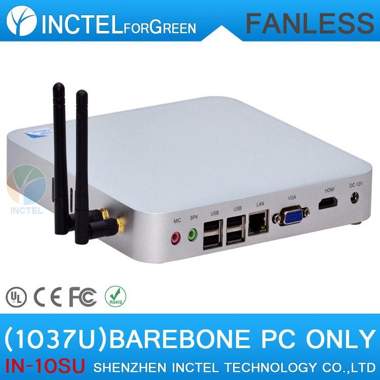 Cheap Mini Computer Linux Micro PC Mini Computer with Intel Celeron Dual Core C1037U 1.8Ghz RAM only(China (Mainland))