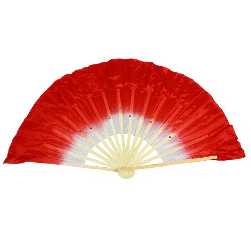 Гаджет  ABWE! Chinese Folk Dancing Hand Fan Red White None Изготовление под заказ