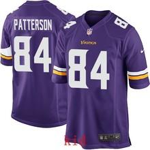 100% Elite men Minnesota Vikings women kids youth free shipping wholesale 84 Cordarrelle Patterson(China (Mainland))