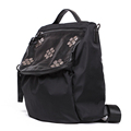 Fashion Multi purpose Bag Women Waterproof Nylon Backpack Punk Style Rivets Ornament Shoulder Bag High Quality
