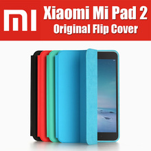 in stock MiPad 2 metal type c win10 tablet pc smart leather case 100% xiaomi original brand for xiaomi mi pad 2 flip cover(China (Mainland))