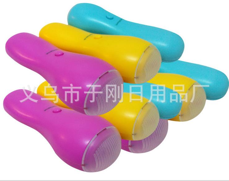 Mini facial massager multi-function electric vibrating massager head massager care health monitors(China (Mainland))