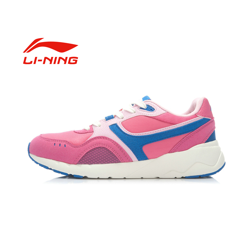 100% original New 2015 LINING Women's Skateboarding Shoes ALCK028-1-4 Low help sneakers