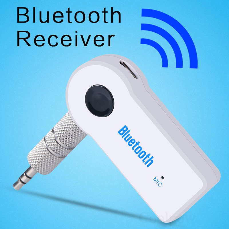Bluetooth Audio Receiver Wireless Music Adapter Car 3.5mm AUX Cable Speaker Headphone Hands-free For iPhone iPod HUAWEI Samsung(China (Mainland))