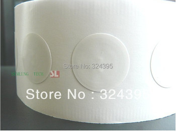 30pcs 25mm  NFC Smart Tags/Sticker/Adhesive Label RFID 13.56MHz ISO14443A S50 Ultralight-M/P payment Access Control