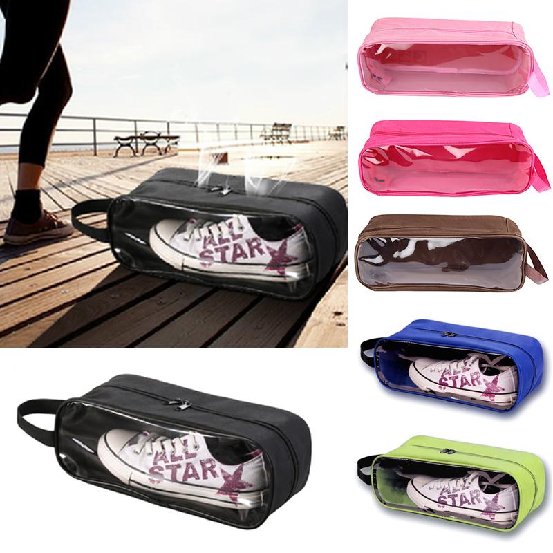 Portable Waterproof Football Shoe Storage Bag Travel Breathable Organizer Sports Gym Carry Storage Case Box Xmas a2(China (Mainland))