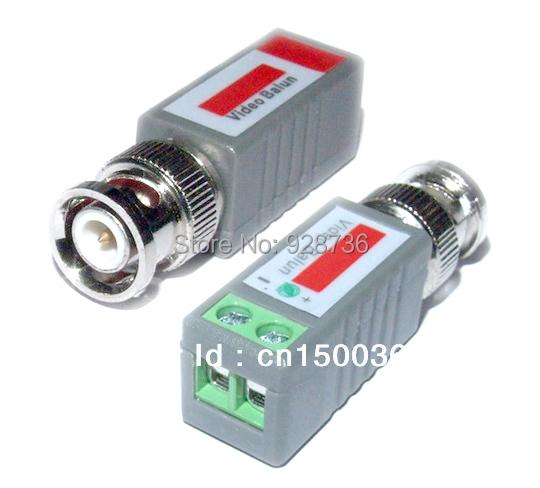 20PCS /10 Pairs BNC Twisted CCTV Video Balun passive Transceivers UTP Balun BNC Cat5 CCTV UTP Video Balun up