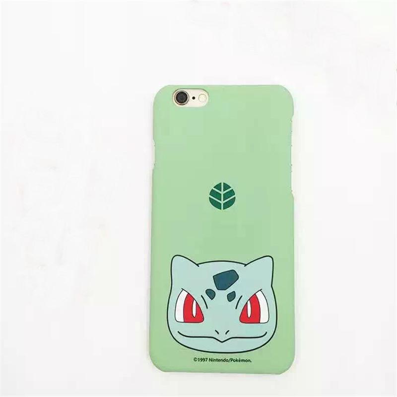 Pokemons Pika Cool pokemon Caso Case Coque Fundas for iPhone 6 6S Plus Phone Case PC Matte Hard Back Cover Pokemon go phone case