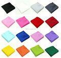 B0120 Mens Solid Color Plaids Checks Grid Wedding Hanky Pocket Square Handkerchief