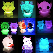 20 kinds colorful night emergency light LED Romantic seven colors changing Christmas Wedding  Xmas Night Lamp Party decration(China (Mainland))