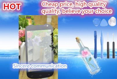 """4.0"" touch screen digitizer high quality for Highscreen spark intelligent mobile phone touch screen free shipping + send tools(China (Mainland))"