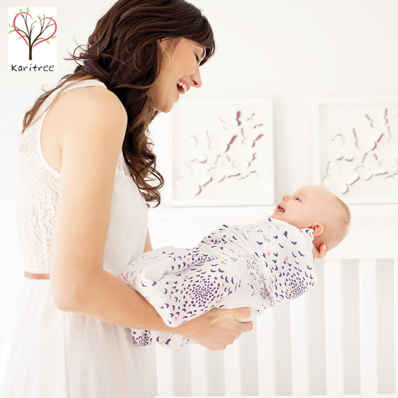 baby swaddle muslin 100% cotton infant receiving blanket ,free shipping