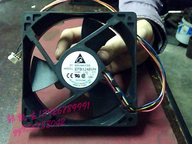 Delta efb1248vh 48v 0.15a 12025 12cm fan line inverter fan(China (Mainland))
