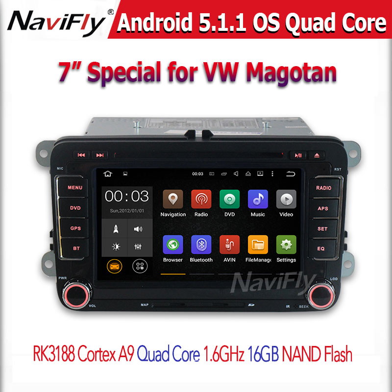 Find agent support cheap price +Android 5.1.1 quad core CAR DVD player for VW series(China (Mainland))