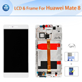 Original LCD for Huawei Mate 8 LCD display touch screen digitizer glass assembly frame 6 inch