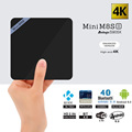 Mini M8S II Smart TV Box Set top Box 4K Amlogic S905X Quad Core Android 6