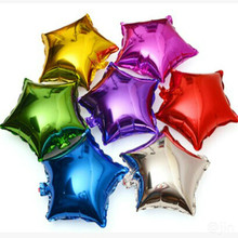 Buy ZLJQ Birthday Decorative Balloons 5pcs Star Aluminum Foil Balloon 25cm * 25cm Birthday Wedding Decorations Party Supplies 8D for $2.56 in AliExpress store