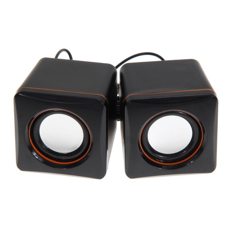 NI5L USB 3.5mm Audio Speaker Adapter Stereo Mini PC Speaker Subwoofer For Desktop Laptop Notebook Tablet Cell Phone