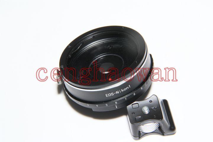 ef lens nikon1 Mount Lens Adapter ring aperture nikon1 N1 J1 J2 J3 J4 V1 V2 V3 S1 S2 AW1 Camera tripod stand