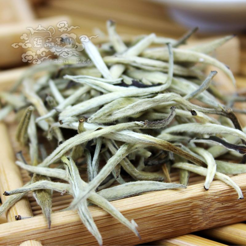 Super Grade 100g Silver Needle, Taimushan Mountain White Tea, Baihao Yingzheng, Conquer blood pressure, Tea, C173, Free Shipping<br><br>Aliexpress