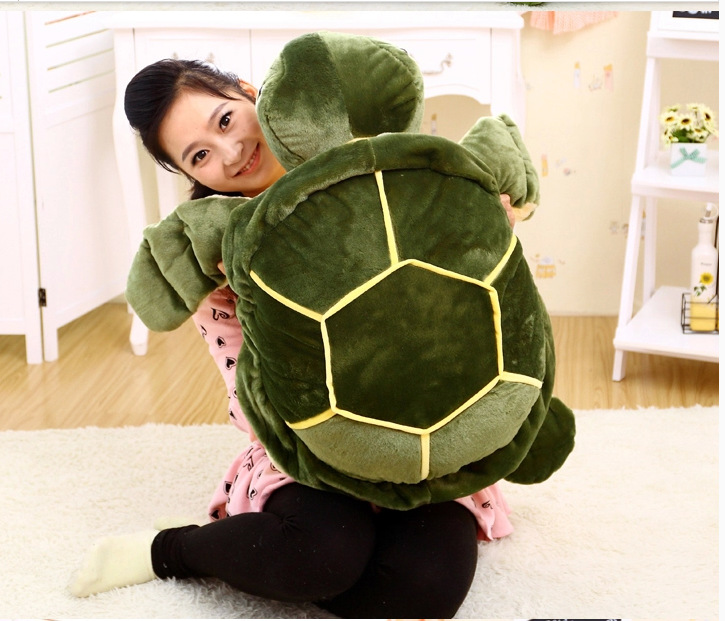 Фотография big plush creative turtle toy new sea turtle toy gift doll about 70cm