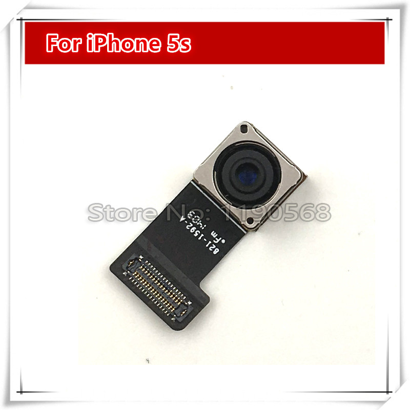 10pcs/lot New Rear Back Camera with Flex Cable for iPhone 5S 5GS Free Shipping(China (Mainland))