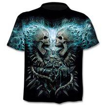 2018 Nieuwe Cloudstyle Eigen Ontwerp T shirt 3D Gun Warrior Tshirt Print Mes Harajuku Tops Tee Korte Mouw fitness t-shirt(China)