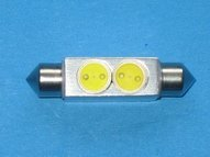 LED auto light;LED Festoon lamp-36mm Long;please advise the color you need;P/N:ZY-SJ36-2X0.5