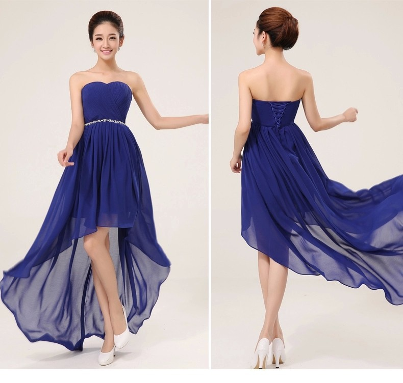 Buy 2015 custom all color and size long for Royal blue wedding dresses cheap