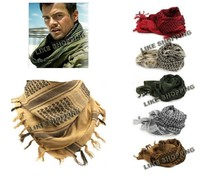 Military windproof Shemagh Tactical Desert ARAB Scarves Keffiyeh Scarf 100% Cotton Wargame Scarf