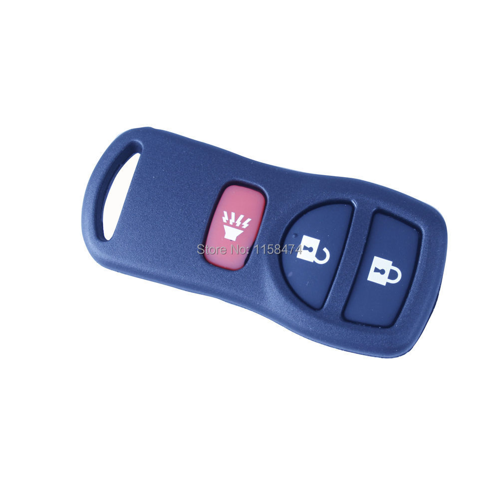 Remote Key Fob Case 3 Button Key Shell For NISSAN Armada Titan Versa Frontier Xterra Pathfinder Murano Quest(China (Mainland))