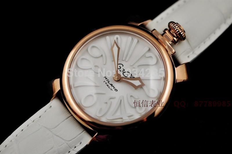 Gaga watch rose gold fashion female watch quartz strap watch 2014 student gifts(China (Mainland))