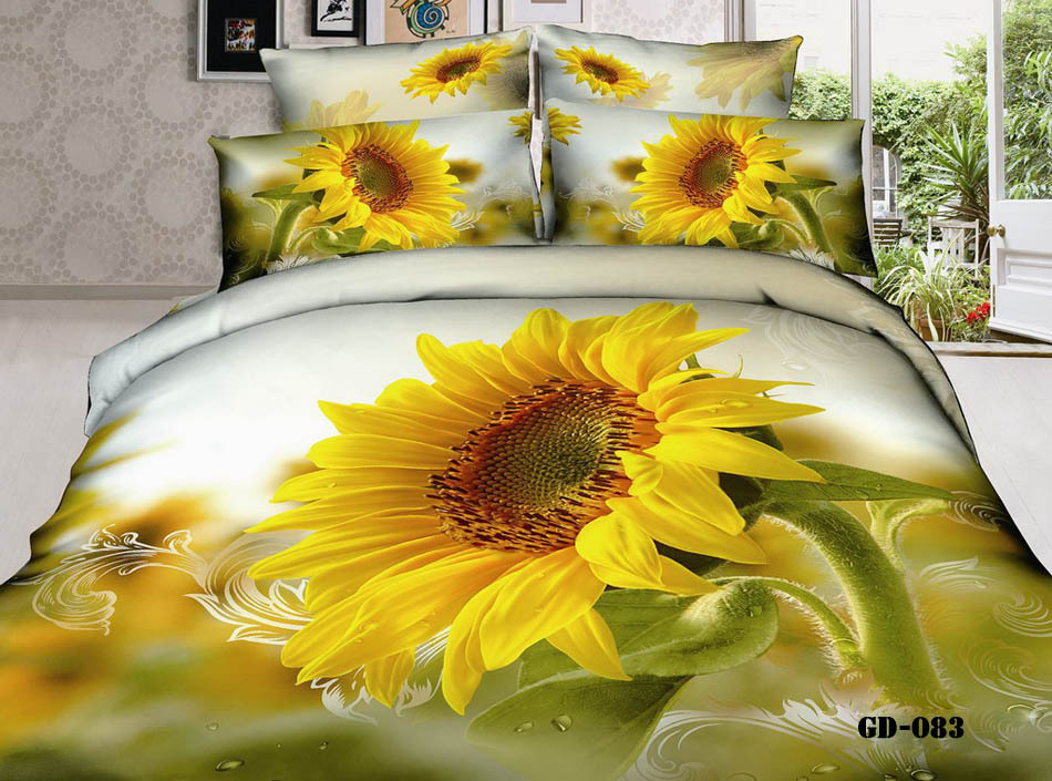 King Size Sunflower Bedding