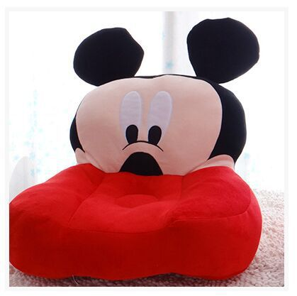 new lovely plush Mickey mouse sofa toy creative cartoon red Mickey sofa doll gift about 50x50x10cm<br><br>Aliexpress