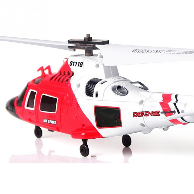 For SYMA Military Ruggedness Remote Control Combat Aircraft Helicopter S111G 3.5 Channel RC Helicopter with Gyro #45(China (Mainland))