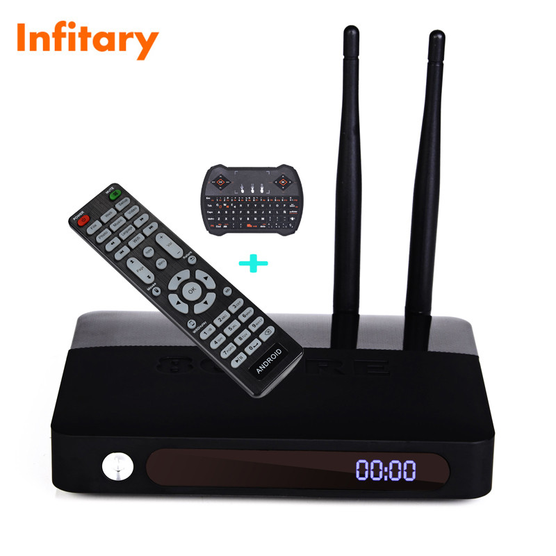 CSA91 Android 5.1 smart TV Box Set Top Box RAM 2gb/16gb+R6 wrieless usb keyboard Chipset RK3368 WIFI Bluetooth 4.0 Built-in tv(China (Mainland))