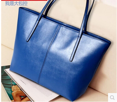 Women's bags 2014 female shoulder bag genuine leather handbag women's vintage fashion cowhide handbag large bag