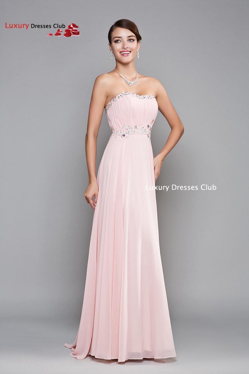 Light Pink Formal Dresses