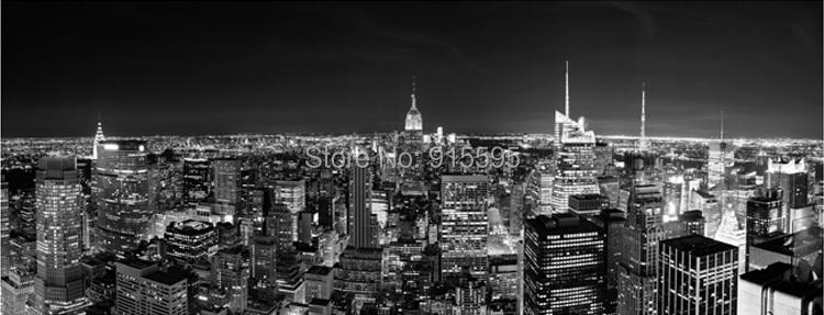 Carta Da Parati Decorativa Personalizzata Per Foto Di New York City Carta Da Parati Decorativa Classica Per Foto Di New York City In Bianco E Nero