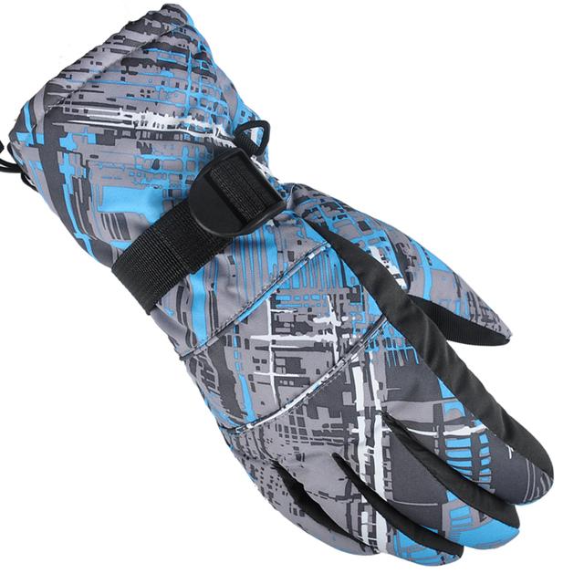Windstopper теплый вождения длинные зимние лыжные перчатки сноуборде перчатки варежки luvas де inverno перчатки доказательство воды снег hombre