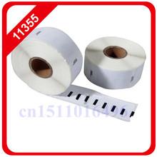 50 X Rolls Dymo Compatible Labels 11355 1355 51mm 19mm 500 Per Roll Adhesive Sticker Multi Purpose for Seiko