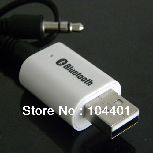 MiNi USB Bluetooth Wireless Receiver Adapter 3.5mm Stereo Music Speakers Converter + HK free shipping<br><br>Aliexpress