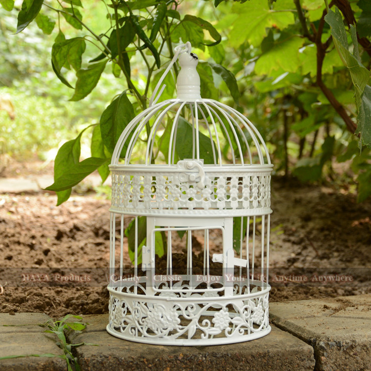 34cm high a cage for birds Decorative Birdcage Wedding Gift Card ...